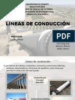 LÍNEAS DE CONDUCCIÓN