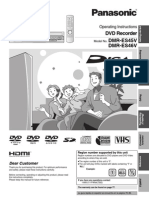 Panasonic-DVD Manual (1-4-09) DMRES45V