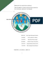 PRINCIPIOS CONSTITUCIONALES QUE RIGEN LA ACTIVIDAD FINANCIERA DEL ESTADO DE GUATEMALA--TRABAJO GRUPAL--