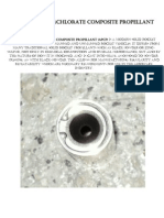 Ammonium perchlorate composite propellant