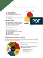 ERC retention model
