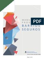 Manual del Programa Barrios Seguros - Argentina