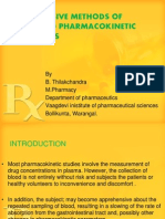 NON INVASIVE METHODS OF ESTIMATING PHARMACOKINETIC PARAMETERS2