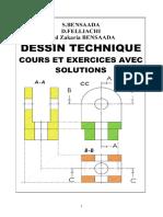 DESSIN TECHNIQUE Cours Et Exercices Avec Solutions Www Cours-electromecanique Com