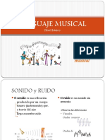 Las Notas Musicales y El Pentagrama 3ro Basico