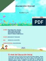 EL NIVEL DE EDUCACION INICIAL II(1)