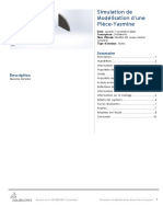 Modélisation d'une Pièce-Yasmine-Modèle 2D coque double symétrie-1