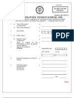 FORM 10c - Pension Withdrawals-