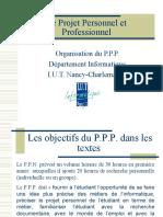 Le Projet Personnel Et Professionnel (1)