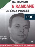 Abbane Ramdane Le Faux Procès