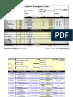 Paediatric drug chart calculator