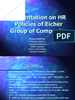 Assignment - EICHER