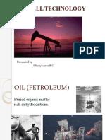 Oil Well Technology.