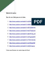 2. MATERIAL DE APOYO Cómo  Buscarv en varias hojas de Excel