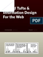 Edward Tufte and Information Design for the Web (Mar 11)