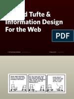 Edward Tufte and Information Design for the Web (Mar 11)
