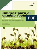 Innovar para el cambio social