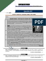 QUESTÕES DE SINTAXE, SEMÂNTICA E LINGUAGEM VERBAL E NÃO VERBAL - PROF. DIAFONSO 002