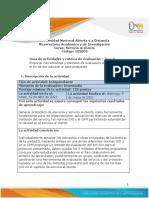 Guia de Actividades y Rúbrica de Evaluación - Unidad 3 - Paso 4 - Análisis (1)