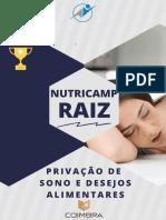 Nutricamp - privação de sono e desejos alimentares