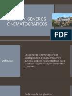 Introducción al cine UNIDAD 3 - géneros del cine.
