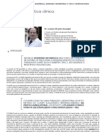 Capítulo 6 - Resistência insulínica, síndrome metabólica e risco cardiovascular