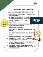 NORMAS DE CONVIVENCIA IE -2020
