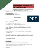 ADMINISTRACION DE MEDICACIOn, etc