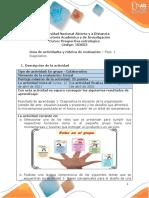 Guía de Actividades y Rúbrica de Evaluación - Unidad 1 - Fase 1 - Diagnóstico