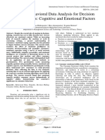 Consumer Behavioral Data Analysis for Decision Making Process Cognitive and Emotional Factors