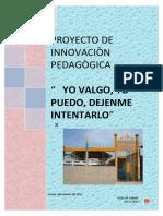 Proyecto de Innovacion Pedagógica 2