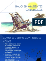 TRABAJO EN AMBIENTES CALUROSOS
