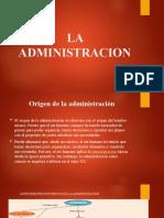 La Administracion (1)