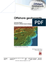 Offshore Geohazards Summary Report