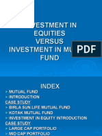 INVESTMENT IN EQUITIES
