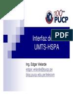 Interfaz de aire UMTS-HSPA