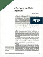 16975631 strategies for Interest Rate Risk Management