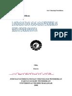 hartoto-bab-iii-landasan-dan-asas-asas-pendidikan-serta-penerapannya
