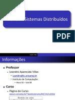 Fundamentos de Sistemas Distribuídos I