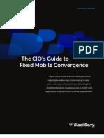 Blackberry_ Cio Guide Fixed Mobile Convergence