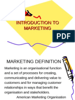 INTRODUCTION TO MARKETING-1