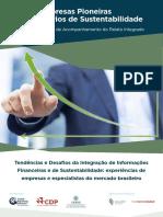 CEDBS - Empresas Pioneiras - Relatorios Sustentabilidade