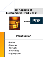 Technical Aspects of E-Commerce Part 2