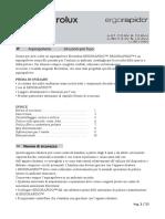 Manuale Scopa Elettrica Ergorapido Li-35 (18V) - IT
