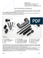 Instructions for Chain Breaker and Riveting Motion Pro)