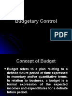 Budgetary control and unit 4