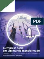 A EMPRESA SOCIAL EM UM MUNDO TRANSFORMADO (DELLOITE, 2021)