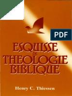 Esquisse de Théologie Biblique Bon1