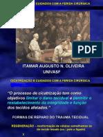 CICATRIZAÇÃO E CUIDADOS COM A FERIDA CIRÚRGICA