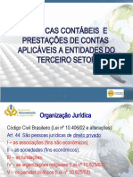 PALESTRA PRESTAÇÃO CONTAS TERCEIRO SETOR
